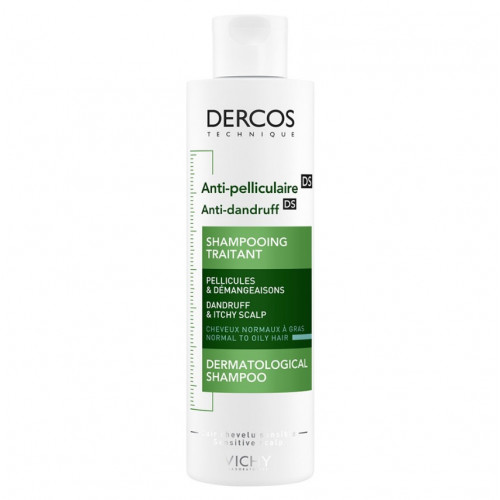 Vichy Dercos Shampooing Anti-pelliculaire cheveux normaux à gras 200 ml
