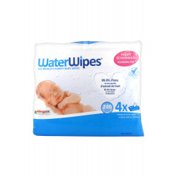 Waterwipes Lot de 4 x 60 Lingettes