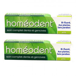 Boiron Homéodent Soin Complet Dents et Gencives Anis 75ml, lot de 2