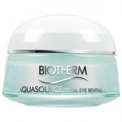 Biotherm Aquasource Total Eye Revitalizer Soin Yeux Effet Froid 15 ml