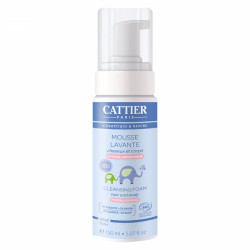 Cattier Mousse Lavante Cheveux et Corps 150 ml